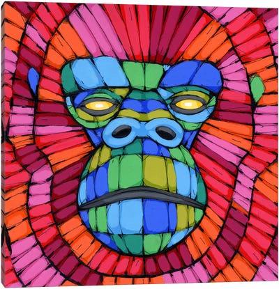 Face First Canvas Art Print