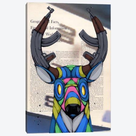 Head Fulla Violence Canvas Print #RIC53} by Ric Stultz Canvas Print