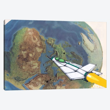 Headed Home Canvas Print #RIC54} by Ric Stultz Canvas Wall Art