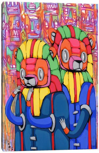 Remain Calm My Friend Canvas Art Print