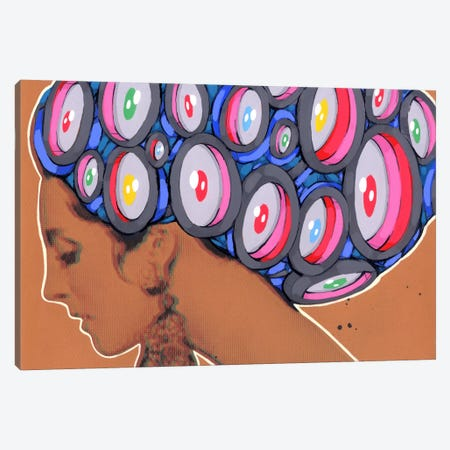 New Hairstyle Canvas Print #RIC75} by Ric Stultz Canvas Art