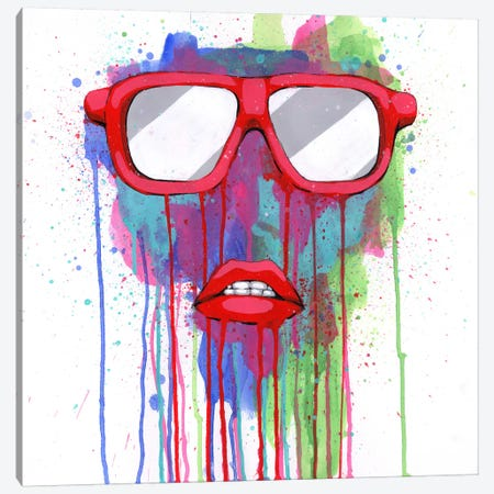 Red Shades Canvas Print #RIC76} by Ric Stultz Canvas Artwork