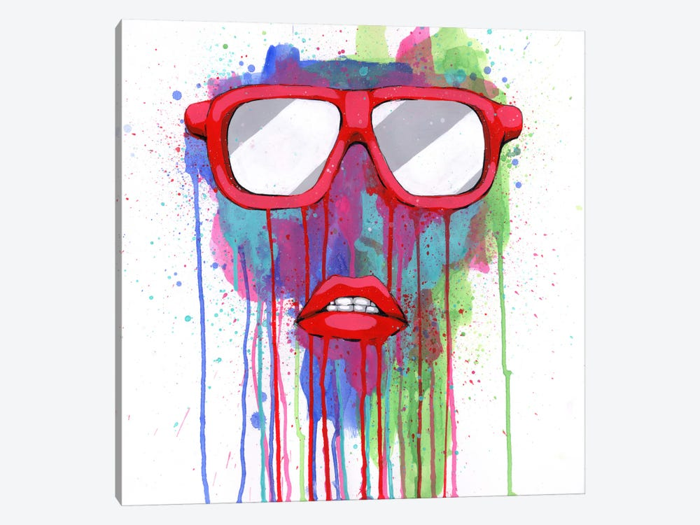 Red Shades by Ric Stultz 1-piece Canvas Art Print