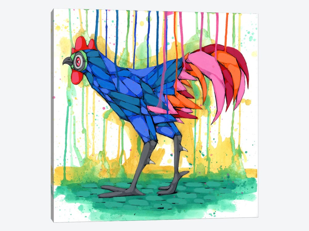 Cool Rooster by Ric Stultz 1-piece Canvas Wall Art