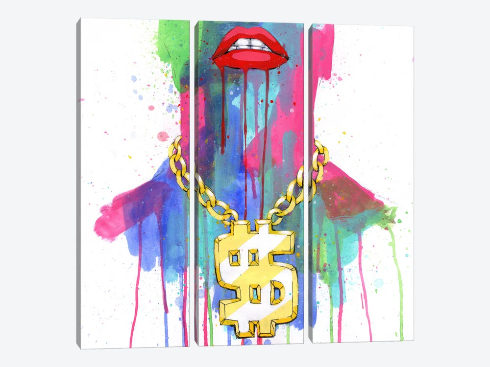 Gold Chain by Ric Stultz 3-piece Art Print