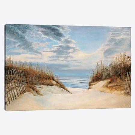 To the Shore I Canvas Print #RID1} by Richard Dunahay Canvas Wall Art