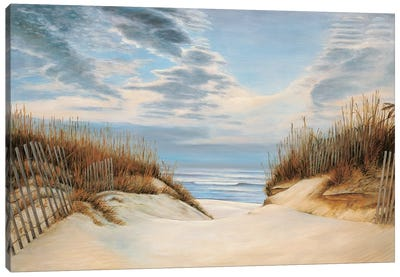 To the Shore I Canvas Art Print
