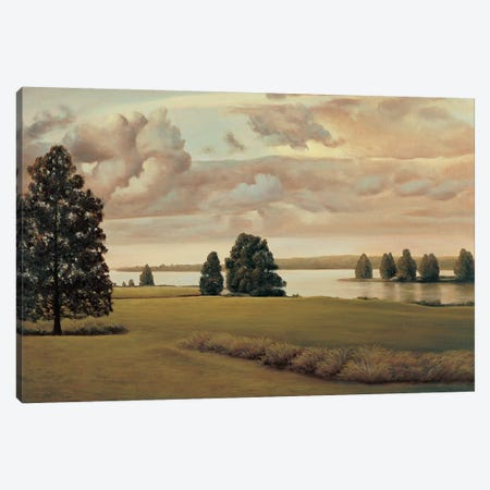 Lakeside I Canvas Print #RID5} by Richard Dunahay Canvas Print