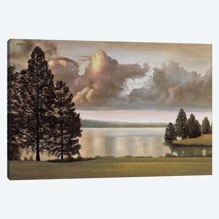 Lakeside II Canvas Print #RID6} by Richard Dunahay Art Print