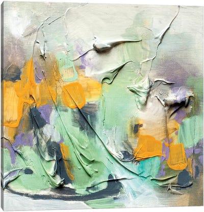 Coffee In The Rain Canvas Art Print