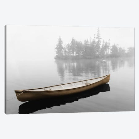 Lone Canoe 3-Piece Canvas #RII5} by Rig Studios Canvas Art