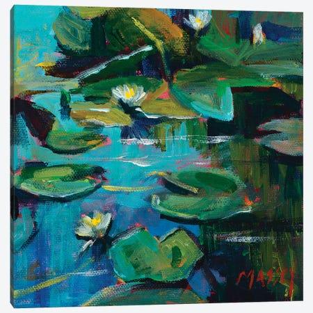 San Francisco Lily Canvas Print #RIM10} by Marie Massey Canvas Art Print