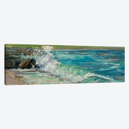 Carmel Splash Canvas Print #RIM11} by Marie Massey Canvas Print