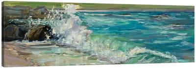 Carmel Splash Canvas Art Print
