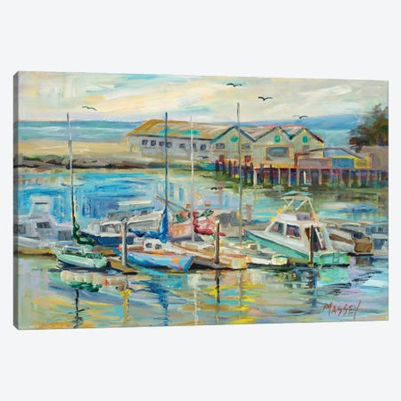 Painted Ladies Canvas Print #RIM16} by Marie Massey Canvas Wall Art