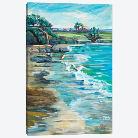 Pebble Beach Passtimes Canvas Print #RIM18} by Marie Massey Art Print