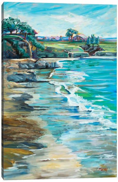 Pebble Beach Passtimes Canvas Art Print
