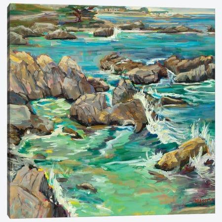 Rising Tide, Plein Air Canvas Print #RIM1} by Marie Massey Canvas Art Print