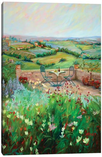Al Fresco Canvas Art Print