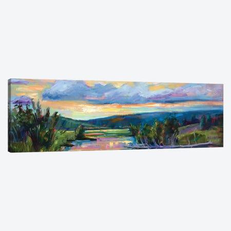 Evening Sonata Canvas Print #RIM25} by Marie Massey Art Print