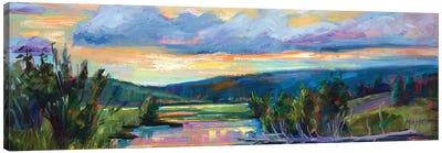 Evening Sonata Canvas Art Print