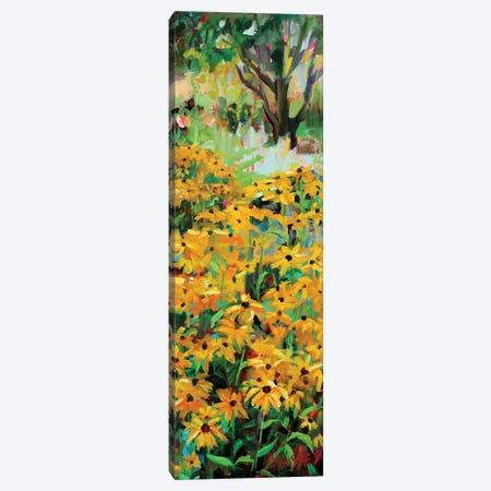 Summer Garden Canvas Print #RIM27} by Marie Massey Canvas Art Print