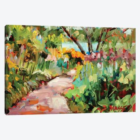 Garden Path Canvas Print #RIM28} by Marie Massey Canvas Wall Art