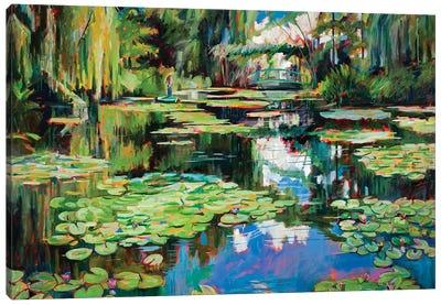 Homage To Monet Canvas Art Print