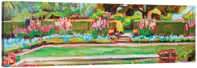 Gazing Pond, Plein Air Canvas Art Print