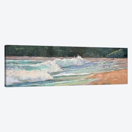 Davenport Surf Canvas Print #RIM35} by Marie Massey Canvas Wall Art