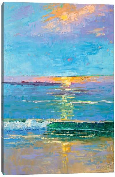 Carmel Beach Sunset Canvas Art Print