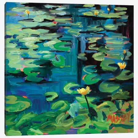 San Francisco Lotus Canvas Print #RIM41} by Marie Massey Canvas Artwork
