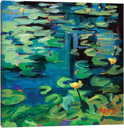 San Francisco Lotus Canvas Art Print
