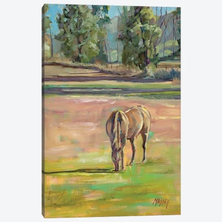 Out To Pasture Canvas Print #RIM44} by Marie Massey Canvas Print
