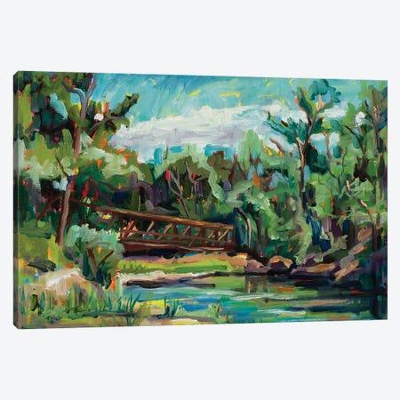 Poudre River Passage Canvas Print #RIM47} by Marie Massey Canvas Art Print