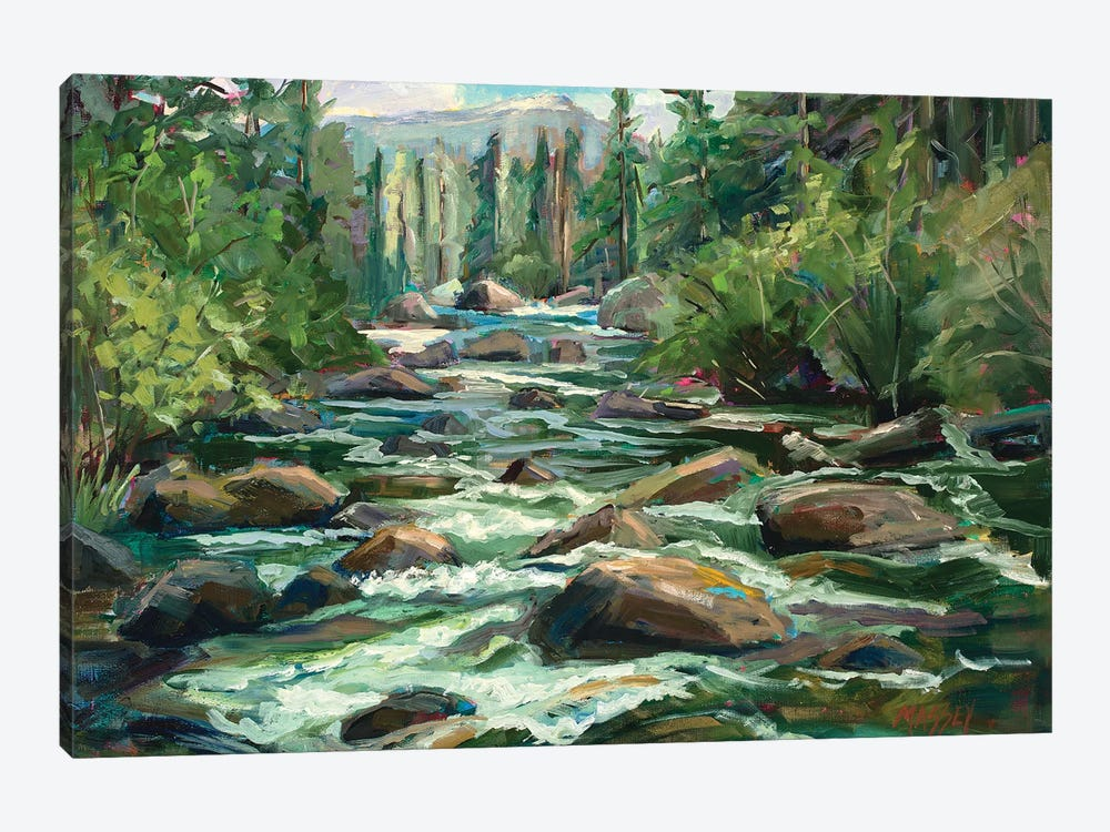 River Song by Marie Massey 1-piece Art Print