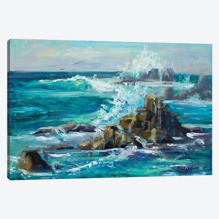 Ocean Spray Canvas Print #RIM4} by Marie Massey Canvas Art