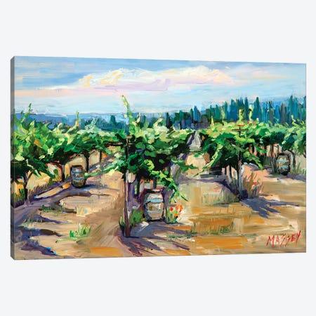 Mountain Winery Canvas Print #RIM65} by Marie Massey Art Print