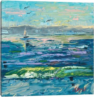Sailing Cerulean Seas Canvas Art Print