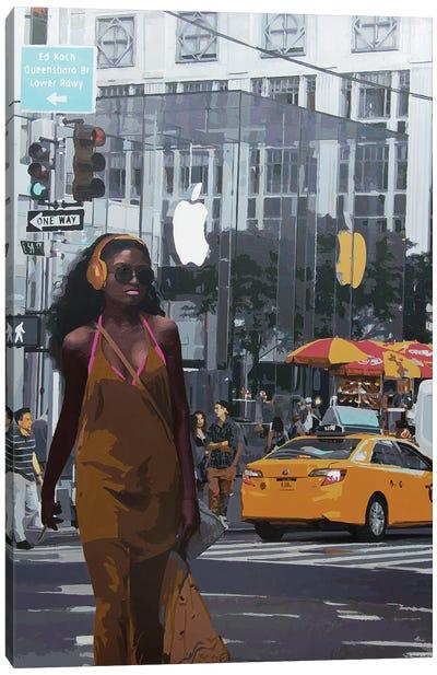 Apple Of Sin Canvas Art Print