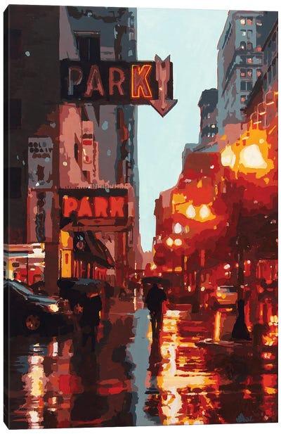 Park Canvas Art Print