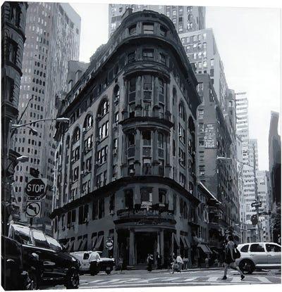 NYC Black & White II Canvas Art Print