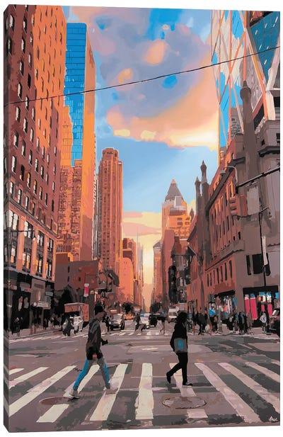 NYC Walk Canvas Art Print