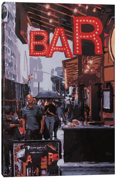 Bar Canvas Art Print