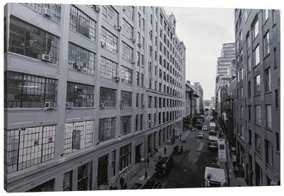 NYC Black & White Canvas Art Print
