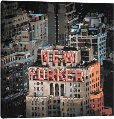 New Yorker Canvas Art Print