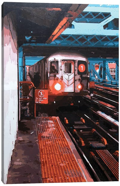 Bronx #1 Canvas Art Print