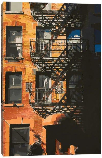 Manhattanhenge On 511 Canvas Art Print