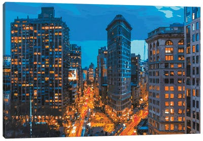 Flatiron 2021 Canvas Art Print