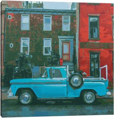 Brooklyn Three Canvas Art Print